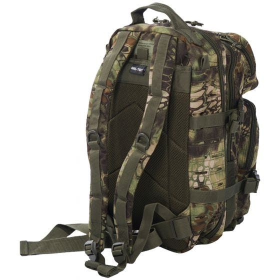 Mil-Tec US Assault Pack Laser Cut Small Einsatzrucksack Mandra Wood