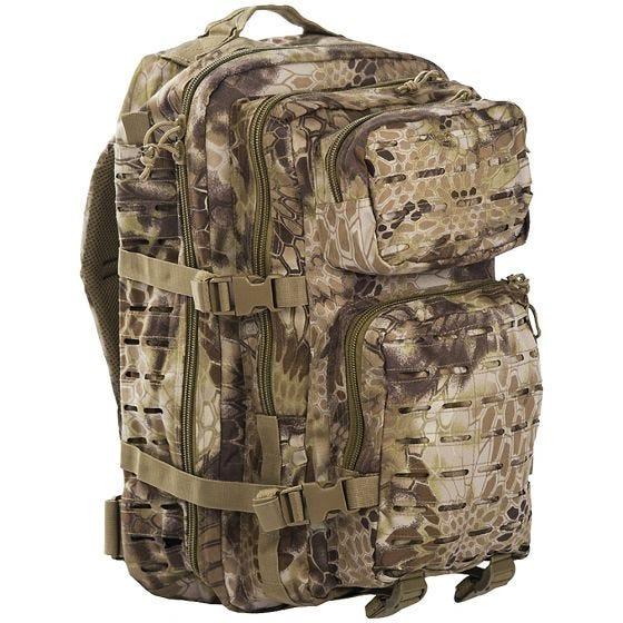 Mil-Tec US Assault Pack Laser Cut Large Einsatzrucksack Mandra Tan