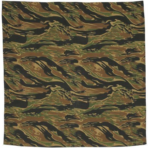 MFH Bandana aus Baumwolle Tiger Stripe
