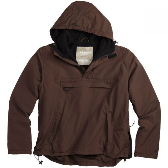 Surplus Windbreaker-Jacke Braun