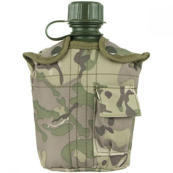MFH US Style Feldflasche Operation Camo