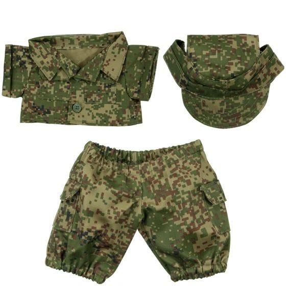 Mil-Tec Teddybär-Uniform Digital Flora Klein