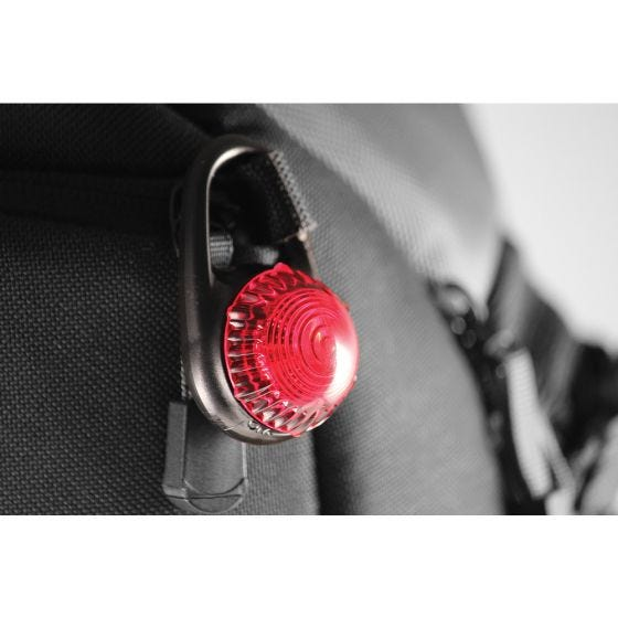 Adventure Lights Guardian Tag-It Clip-Sicherheitslampe Rot