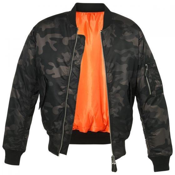 Brandit MA1 Camo Jacke Dark Camo