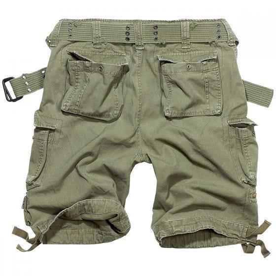 Brandit Savage Vintage Shorts Olivgrün