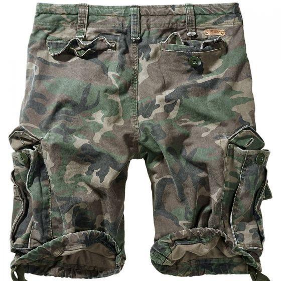 Brandit Vintage Classic Shorts Woodland