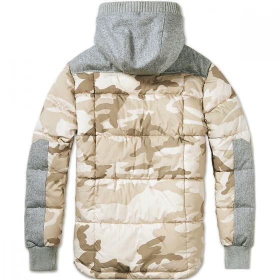 Brandit Garret Jacke Desert Camo/Grau