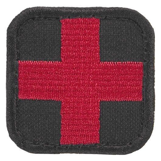 Condor Erste-Hilfe-Patch Schwarz/Rot