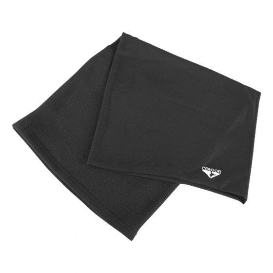 Condor Fleece-Multifunktionstuch Schwarz