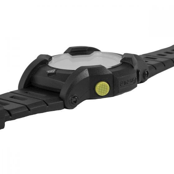 First Tactical Canyon Digitale Armbanduhr mit Kompassfunktion Schwarz