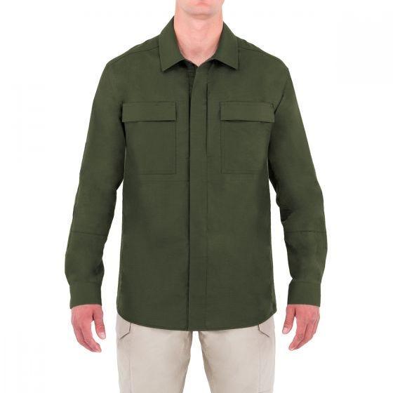 First Tactical Specialist Herren BDU-Hemd langärmelig OD Green