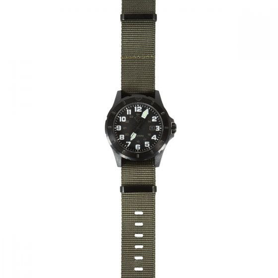 First Tactical Ridgeline Armbanduhr aus Carbon OD Green