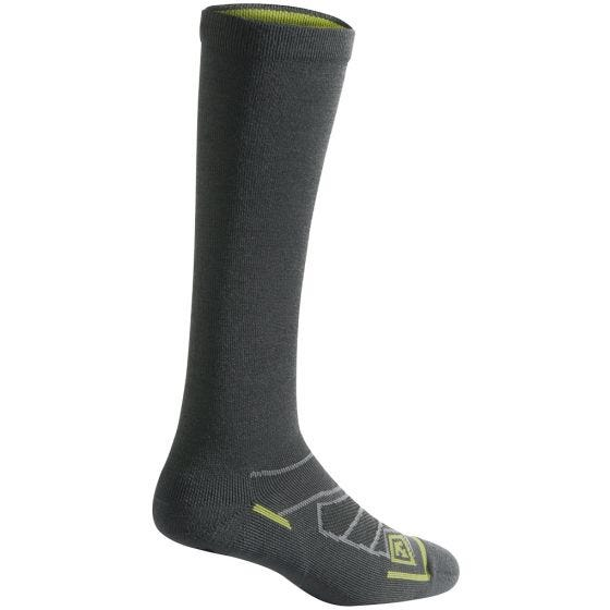 "First Tactical All Season 9"" Socken aus Merinowolle Charcoal"