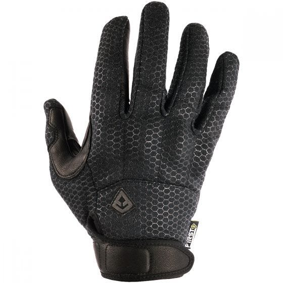 First Tactical Slash & Flash Herren-Handschuhe mit Knöchelschützern Schwarz