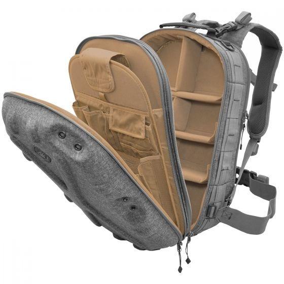 Civilian Lab Grayman Pillbox Hardshell-Tagesrucksack Grau