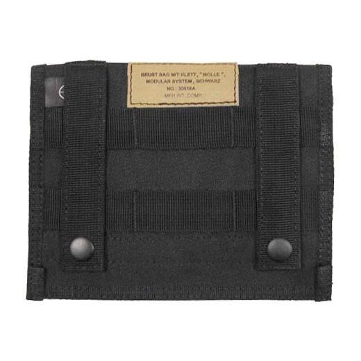 MFH Admin Pouch Organizer-Tasche mit MOLLE-Befestigungssystem Schwarz