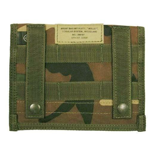 MFH Admin Pouch Organizer-Tasche mit MOLLE-Befestigungssystem Woodland