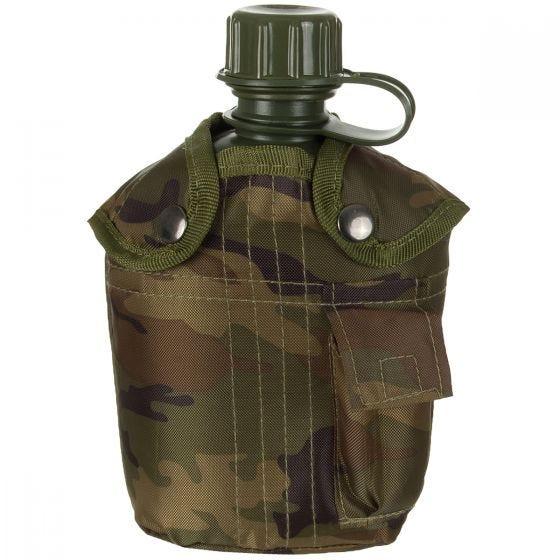 MFH US Style Feldflasche Woodland