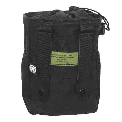 MFH Dump Pouch Abwurftasche mit MOLLE-Befestigungssystem Schwarz