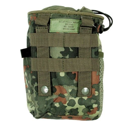 MFH Dump Pouch Abwurftasche mit MOLLE-Befestigungssystem Flecktarn