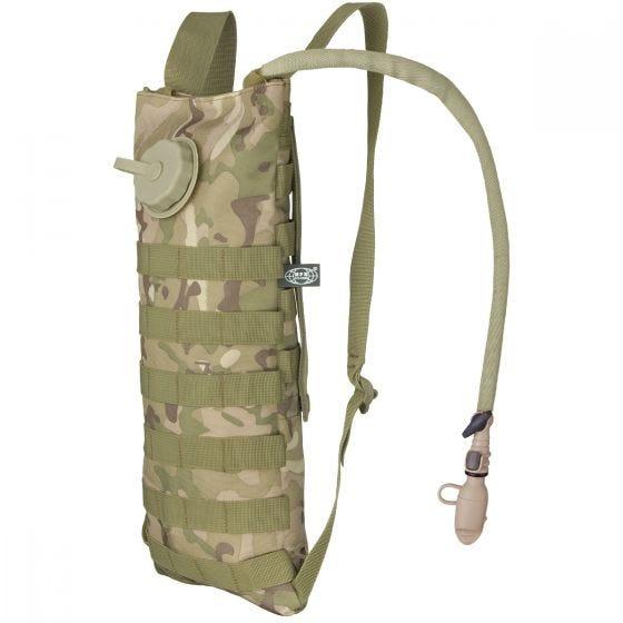 MFH Trinkblase und Tasche mit MOLLE-Befestigungssystem Operation Camo