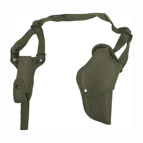 MFH Pistolen-Schulterholster für Rechtshänder Oliv