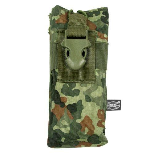 MFH PRC 148 MBITR Tasche für Handfunkgerät mit MOLLE-Befestigungssystem Flecktarn