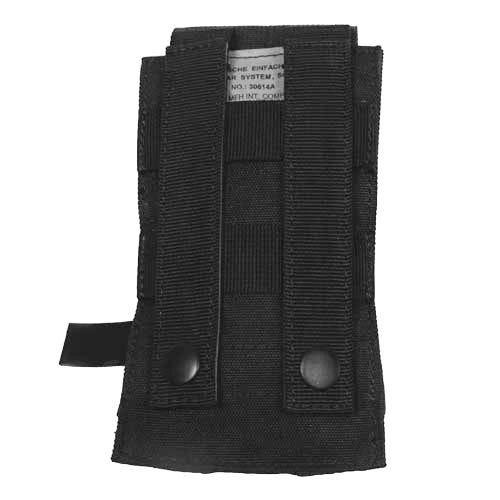 MFH Einzel-Magazintasche für M4/M16 mit MOLLE-Befestigungssystem Schwarz