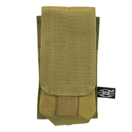 MFH Einzel-Magazintasche für M4/M16 mit MOLLE-Befestigungssystem Coyote