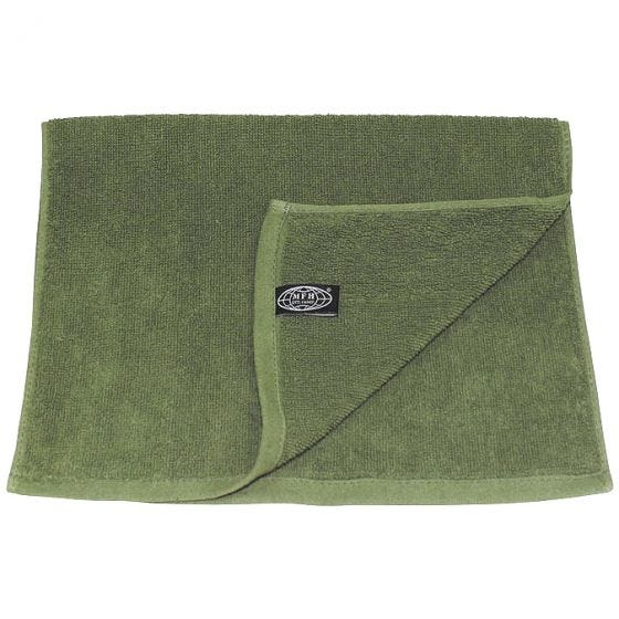 MFH 30x50cm Frotteehandtuch OD Green