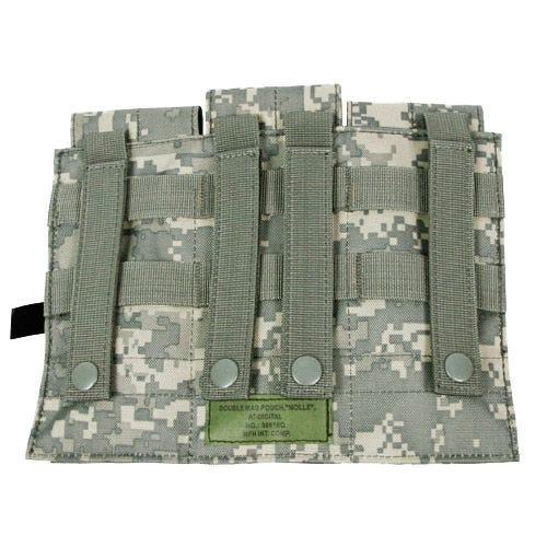 MFH Dreifach-Magazintasche für M4/M16 mit MOLLE-Befestigungssystem ACU Digital