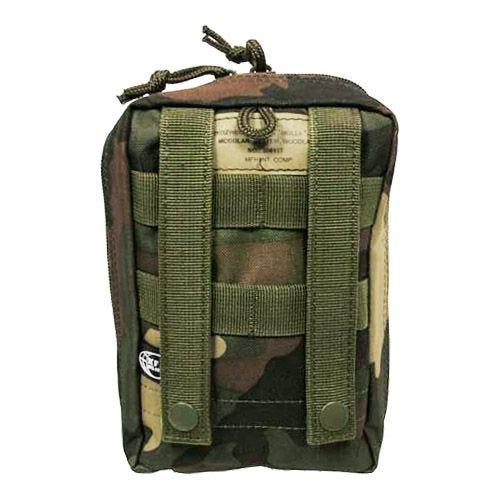 MFH Tasche für Erste-Hilfe-Set mit MOLLE-Befestigungssystem Woodland