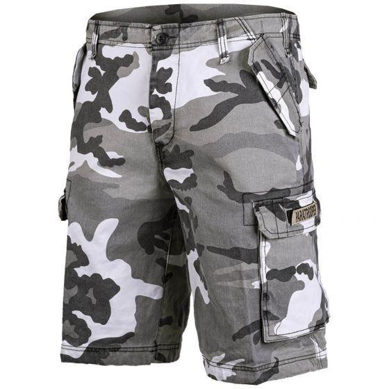 Mil-Tec Paratrooper Cargo-Shorts Prewashed Urban