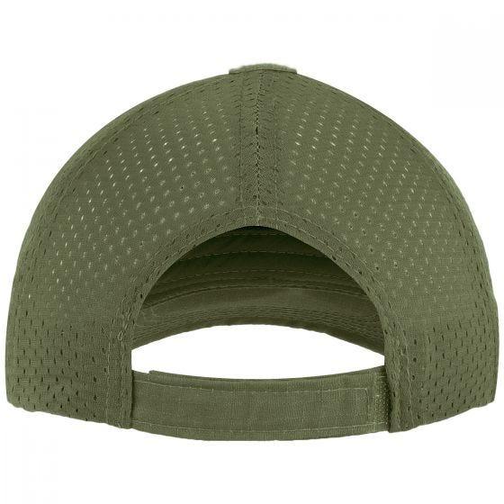 Mil-Tec Basecap mit Netzstoff Olivgrün