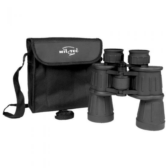 Mil-Tec Fernglas 7x50 mit Gummibeschichtung Schwarz