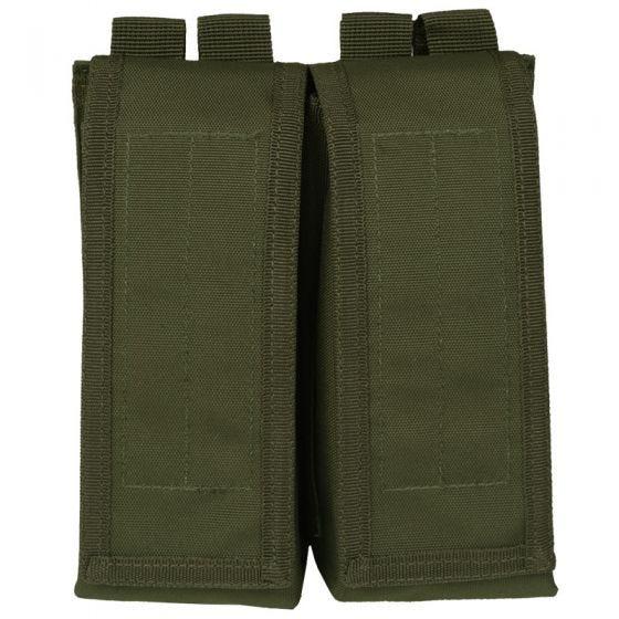 Mil-Tec AK47 Doppel-Magazintasche mit MOLLE-Befestigungssystem Oliv