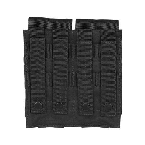 Mil-Tec M4/M16 Doppel-Magazintasche mit MOLLE-Befestigungssystem Schwarz