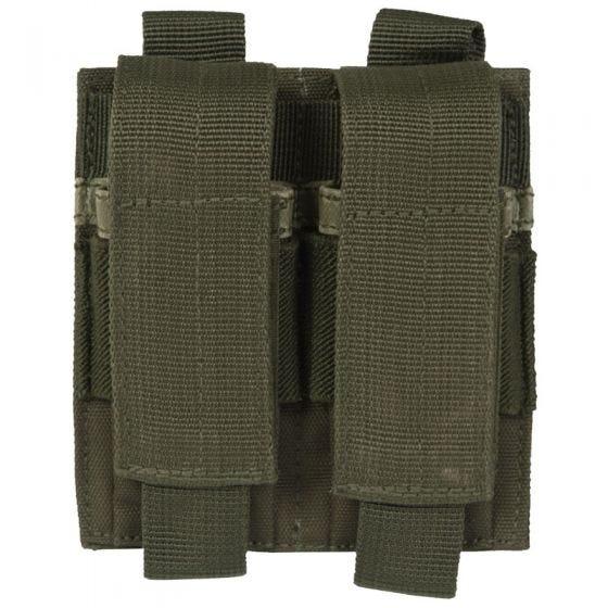 Mil-Tec Doppel-Magazintasche für Pistolenmagazine Oliv
