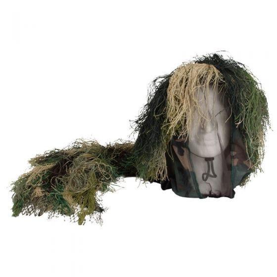 Mil-Tec Camouflage Bush Kopfbedeckung Woodland