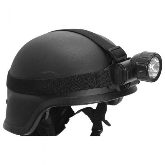 Mil-Tec Stirnlampe mit 12 LED-Leuchten