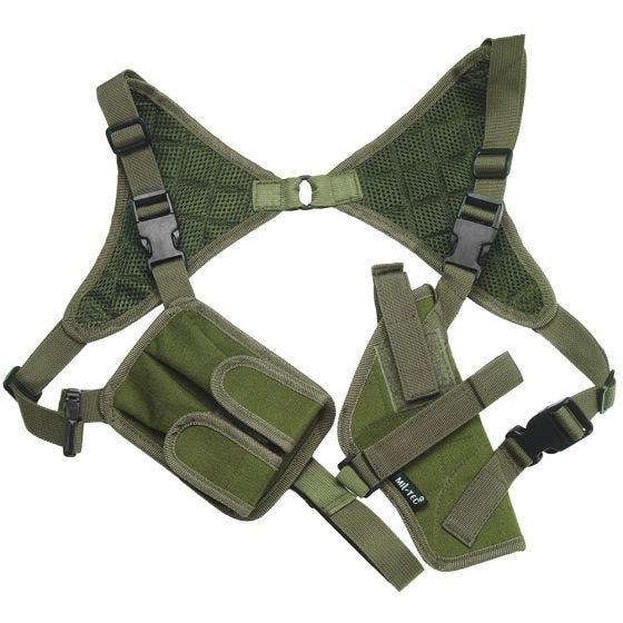 Mil-Tec Cordura-Schulterholster Oliv