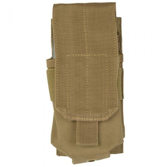 Mil-Tec M4/M16 Einzel-Magazintasche mit MOLLE-Befestigungssystem Coyote