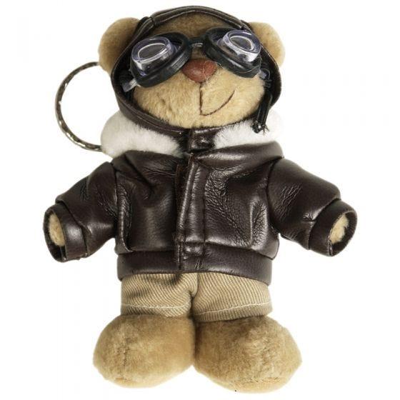 Mil-Tec Schlüsselring Pilot-Teddybär