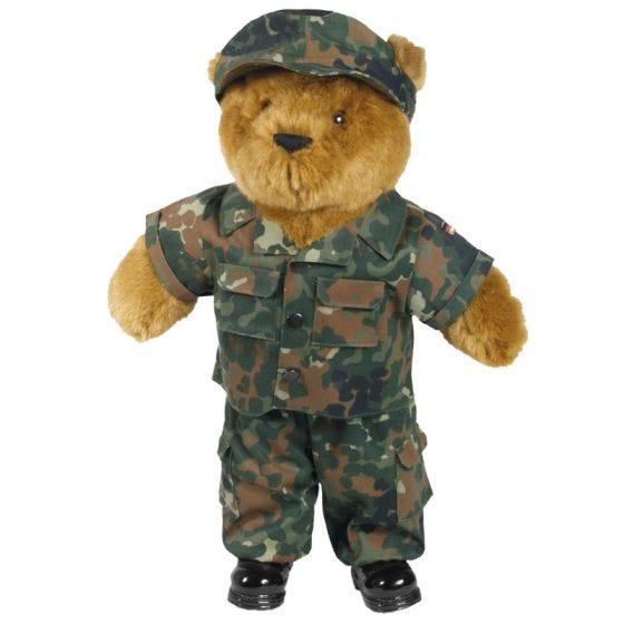 Mil-Tec Teddybär-Uniform Flecktarn Groß