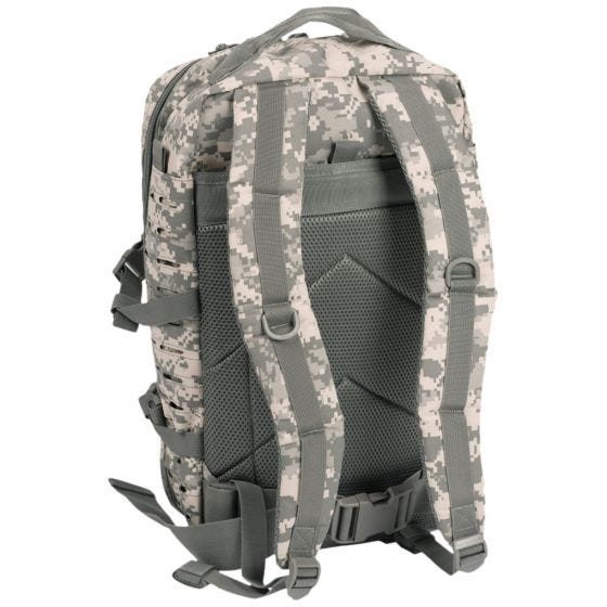 Mil-Tec US Assault Pack Laser Cut Large Einsatzrucksack ACU Digital