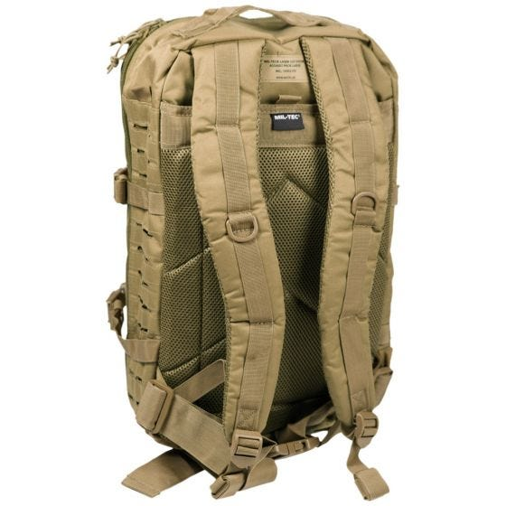 Mil-Tec US Assault Pack Laser Cut Large Einsatzrucksack Coyote