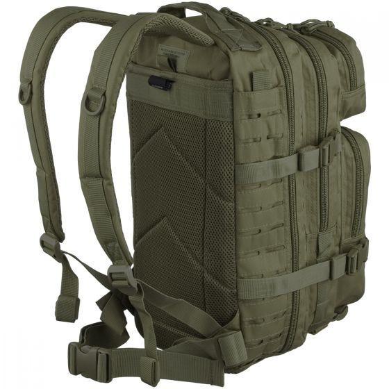 Mil-Tec US Assault Pack Laser Cut Small Einsatzrucksack Oliv