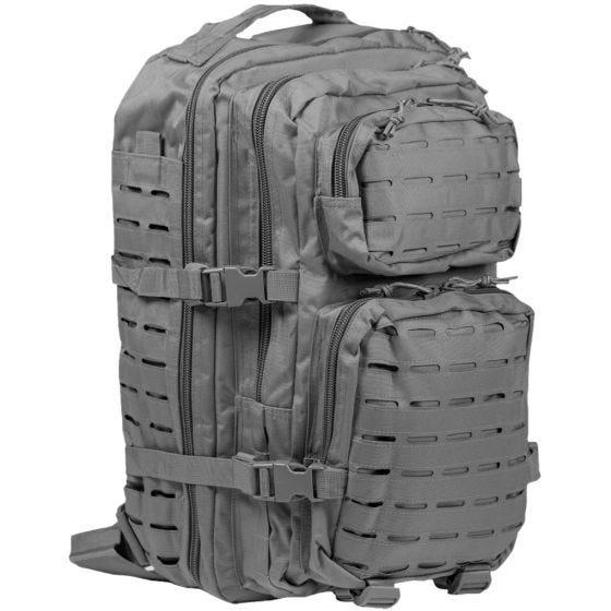 Mil-Tec US Assault Pack Laser Cut Large Einsatzrucksack Urban Grey