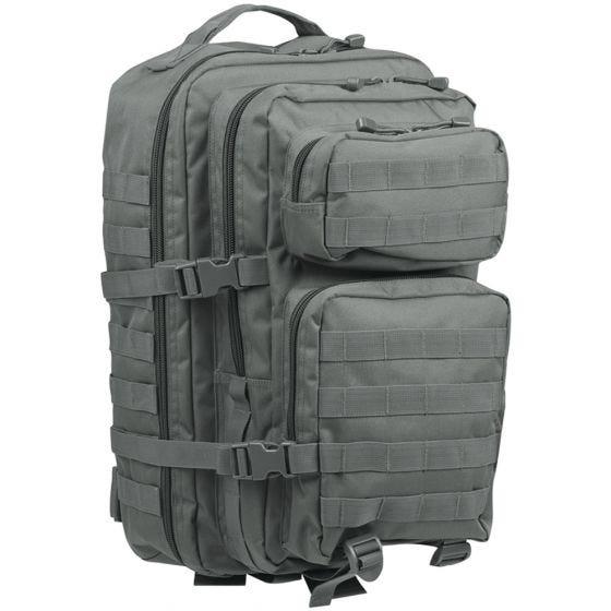 Mil-Tec US Assault Pack Large Einsatzrucksack mit MOLLE-Befestigungssystem Urban Grey