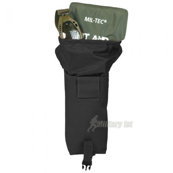 Mil-Tec Mehrzwecktasche mit MOLLE-Befestigungssystem Schwarz Klein